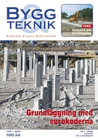 Bygg & teknik 1/2009