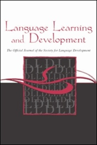 Language Learning And Development (UK) 2/2011