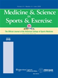 Medicine & Science In Sports & Exercise (UK) 7/2009