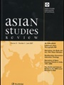 Asian Studies Review 1/2007