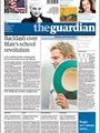 Guardian Saturday Issue One Issue Per Week/air Mail 9/2010