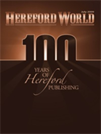 Hereford World Magazine (UK) 8/2009