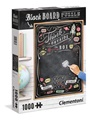 Chalkboard Puzzle Think Outside The Box Pussel, 1000 bitar