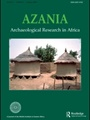 Azania:archaeological Research In Africa 1/2010