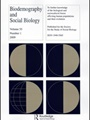 Biodemography And Social Biology 1/2011