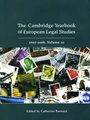 Cambridge Yearbook Of European Legal Studies 1/2011