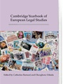 Cambridge Yearbook Of European Legal Studies 1/2014