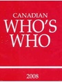 Canadian Who's Who Book 1/2011