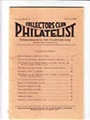 Collectors Club Philatelist 1/2011