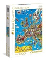 Europe Map Pussel, 1000 bitar