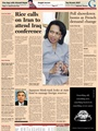 Financial Times (no Cancellations) Mon-sat Edition To Euro Zone - Airmail 8/2009