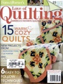 Fons and Porters Love of Quilting 1/2014