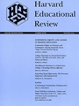 Harvard Educational Review Air Mail 2/2011